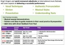 Vocal Seminar HKSMF